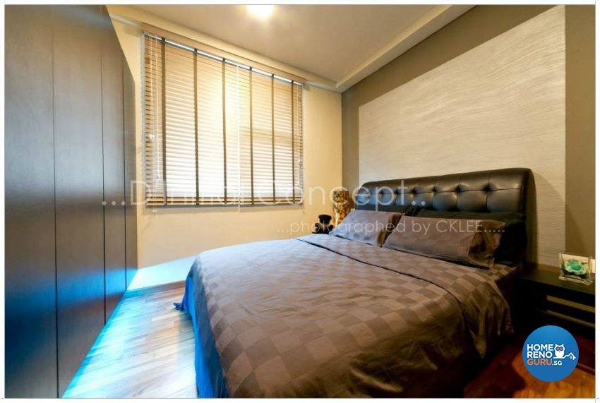 Modern, Rustic Design - Bedroom - Condominium - Design by D Initial Concept