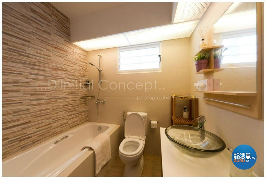 Contemporary, Industrial Design - Bathroom - HDB 4 Room - Design by D Initial Concept