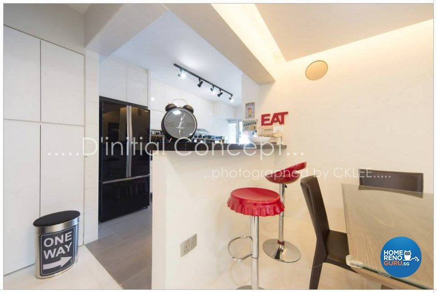 Contemporary, Minimalist Design - Kitchen - HDB 4 Room - Design by D Initial Concept