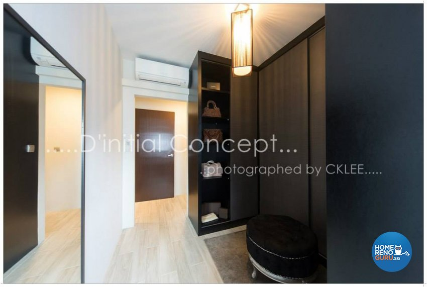 Contemporary, Minimalist Design - Bedroom - HDB 4 Room - Design by D Initial Concept
