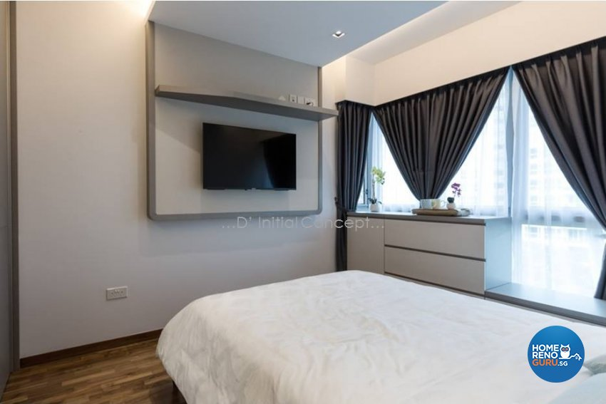 Mediterranean, Minimalist, Modern Design - Bedroom - Condominium - Design by D Initial Concept