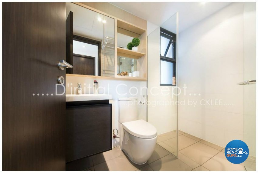 Contemporary Design - Bathroom - Condominium - Design by D Initial Concept