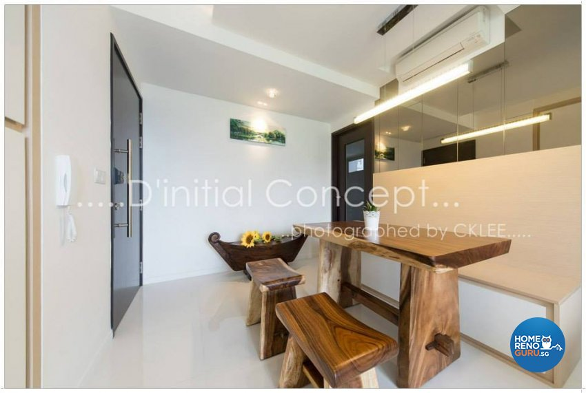Contemporary Design - Dining Room - Condominium - Design by D Initial Concept