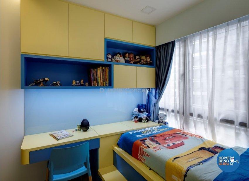 Contemporary, Modern Design - Bedroom - Condominium - Design by D Initial Concept