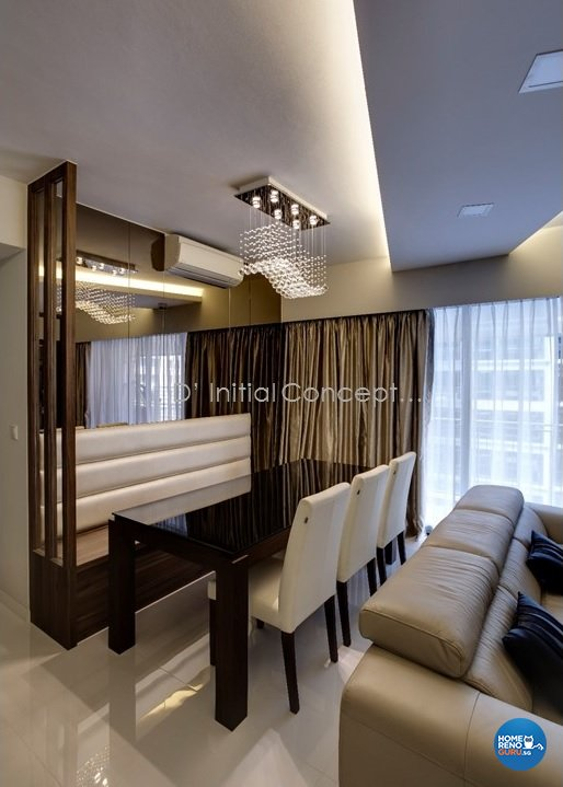 Contemporary, Modern Design - Dining Room - Condominium - Design by D Initial Concept