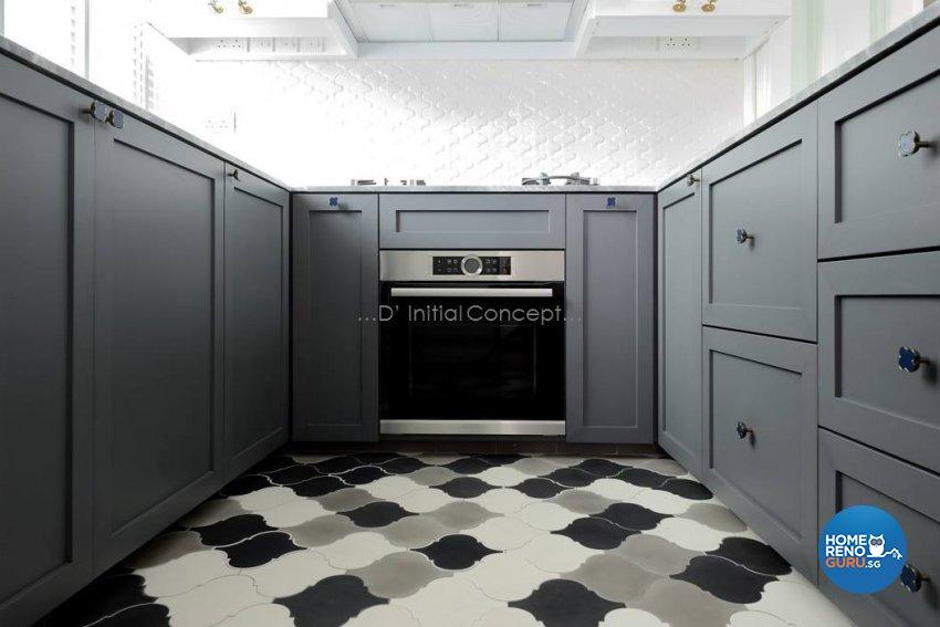 Classical, Contemporary Design - Kitchen - Condominium - Design by D Initial Concept