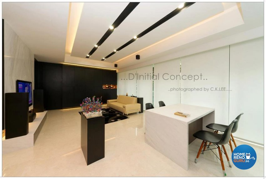 Contemporary, Minimalist, Modern Design - Dining Room - Condominium - Design by D Initial Concept