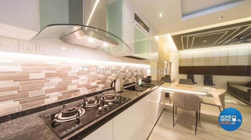 Classical, Contemporary, Modern Design - Kitchen - HDB 4 Room - Design by D Initial Concept