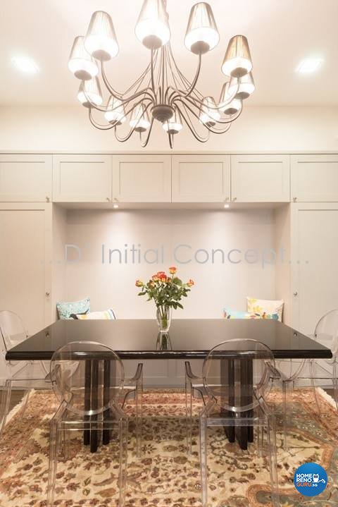 Classical, Contemporary Design - Dining Room - Condominium - Design by D Initial Concept