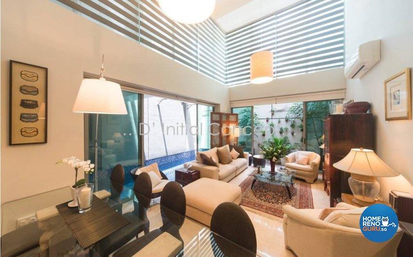 Classical, Contemporary Design - Living Room - Condominium - Design by D Initial Concept