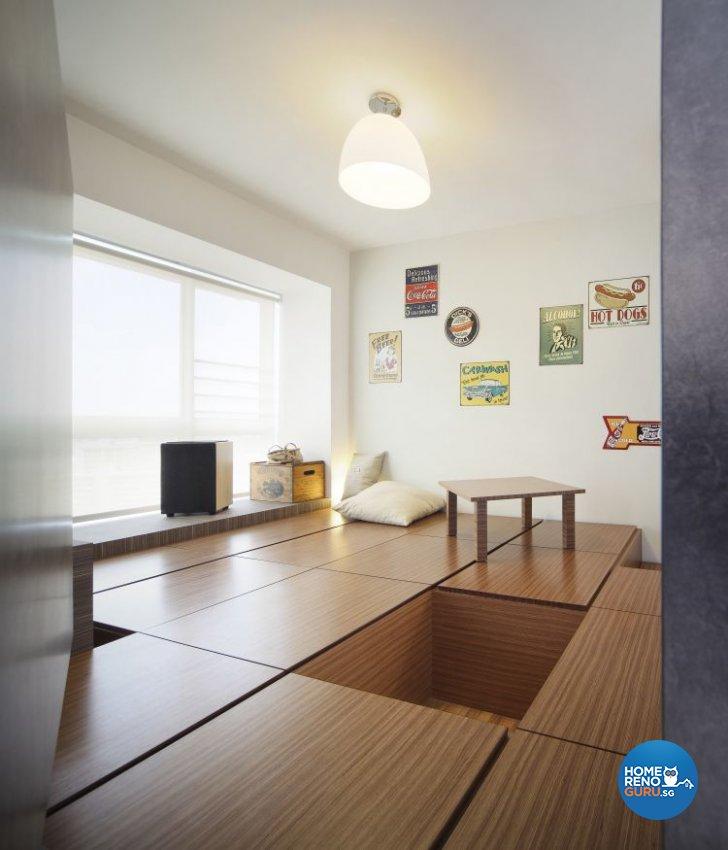 Retro Design - Study Room - Condominium - Design by Distinctidentity Pte Ltd