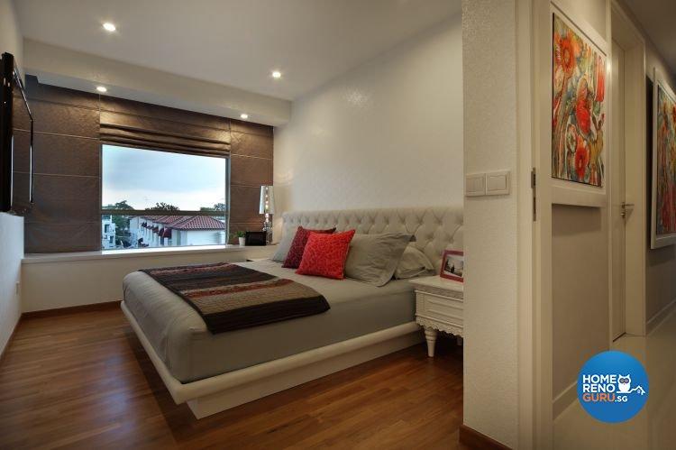 Minimalist Design - Bedroom - Condominium - Design by Distinctidentity Pte Ltd
