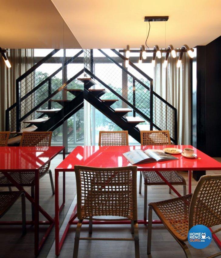 Modern Design - Dining Room - Condominium - Design by Distinctidentity Pte Ltd