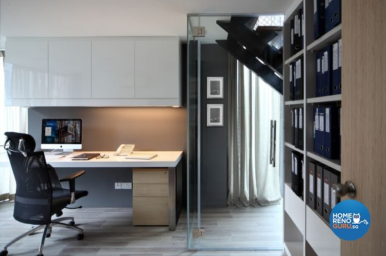 Modern Design - Study Room - Condominium - Design by Distinctidentity Pte Ltd