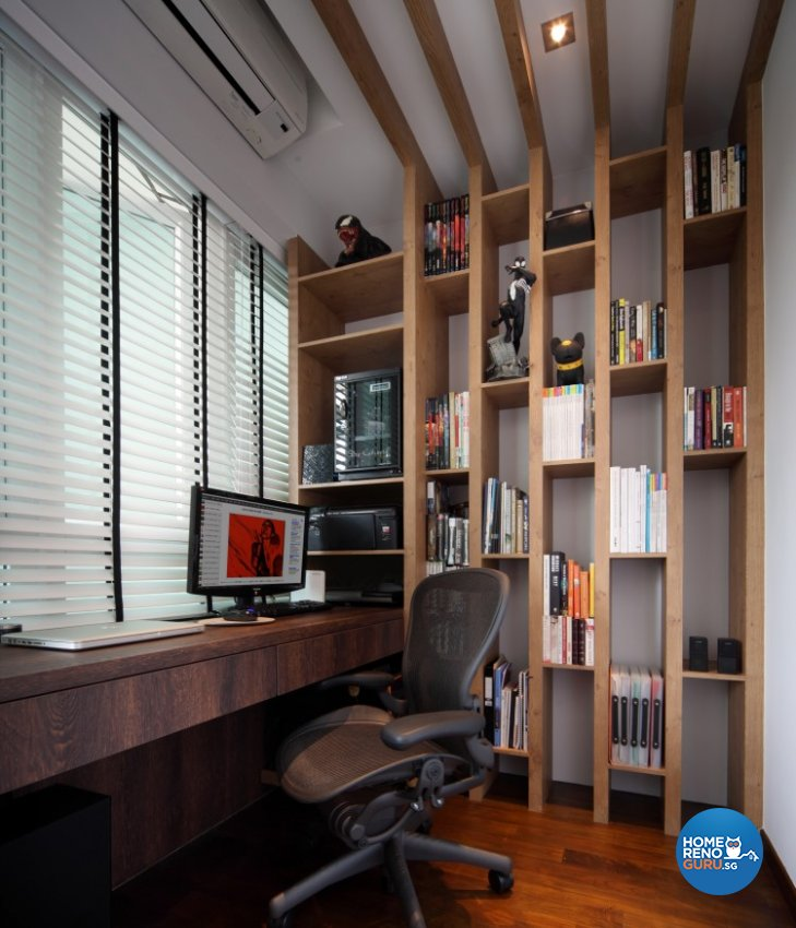 Country Design - Study Room - Condominium - Design by Distinctidentity Pte Ltd