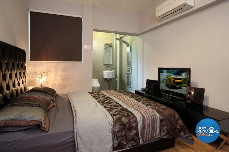 Tropical Design - Bedroom - HDB 3 Room - Design by Distinctidentity Pte Ltd