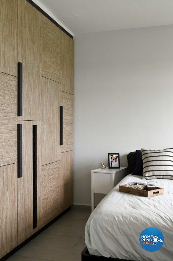 Scandinavian Design - Bedroom - HDB 4 Room - Design by Distinctidentity Pte Ltd