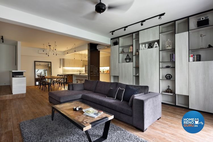 Scandinavian Design - Living Room - Condominium - Design by Distinctidentity Pte Ltd