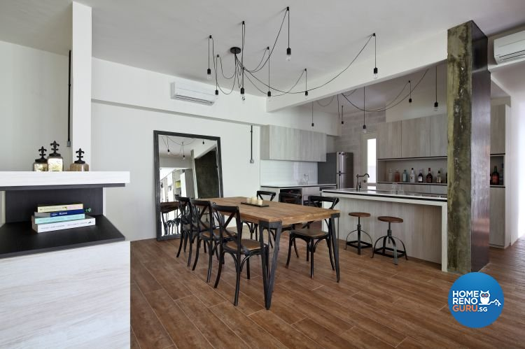 Scandinavian Design - Dining Room - Condominium - Design by Distinctidentity Pte Ltd