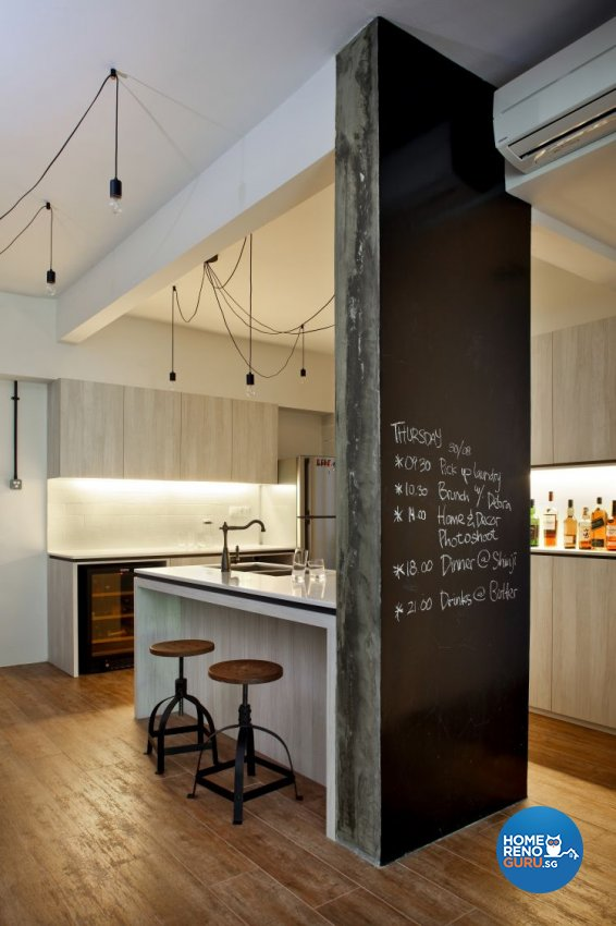 Scandinavian Design - Kitchen - Condominium - Design by Distinctidentity Pte Ltd