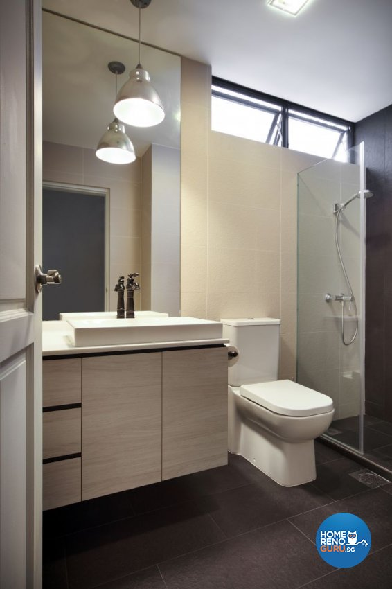 Scandinavian Design - Bathroom - Condominium - Design by Distinctidentity Pte Ltd