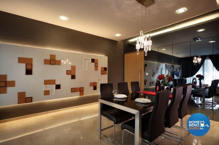 Minimalist Design - Dining Room - Condominium - Design by Distinctidentity Pte Ltd