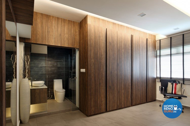 Scandinavian Design - Bathroom - HDB 5 Room - Design by Distinctidentity Pte Ltd