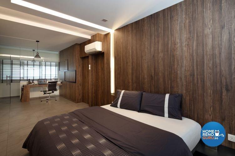 Minimalist Design - Bedroom - HDB 3 Room - Design by Distinctidentity Pte Ltd