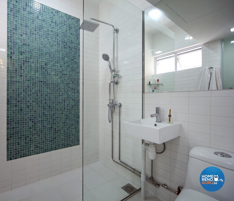 Modern Design - Bathroom - HDB Executive Apartment - Design by Distinctidentity Pte Ltd