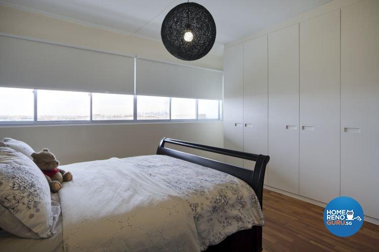 Minimalist Design - Bedroom - HDB Executive Apartment - Design by Distinctidentity Pte Ltd