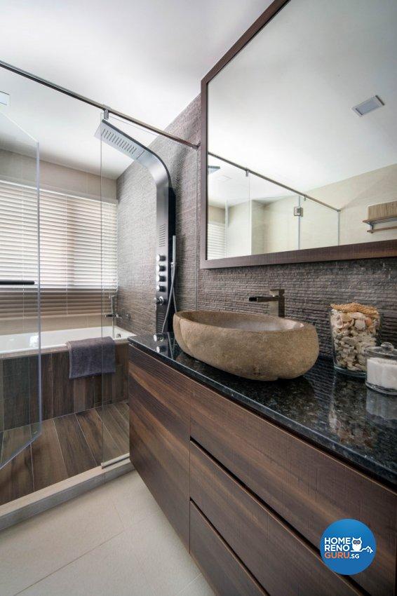 Contemporary Design - Bathroom - Condominium - Design by Distinctidentity Pte Ltd