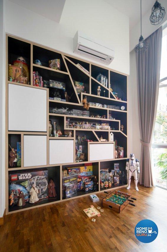 Contemporary Design - Study Room - Condominium - Design by Distinctidentity Pte Ltd