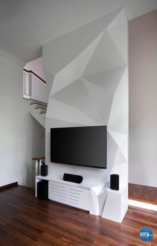 Contemporary Design - Living Room - Condominium - Design by Distinctidentity Pte Ltd