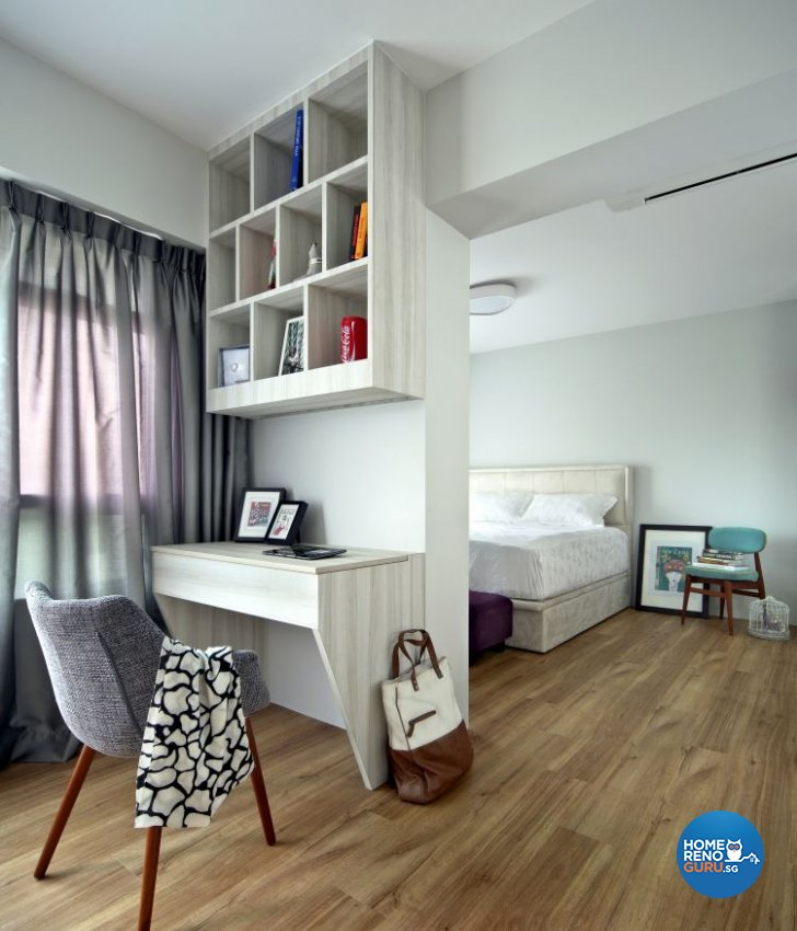 Contemporary Design - Bedroom - HDB 4 Room - Design by Distinctidentity Pte Ltd