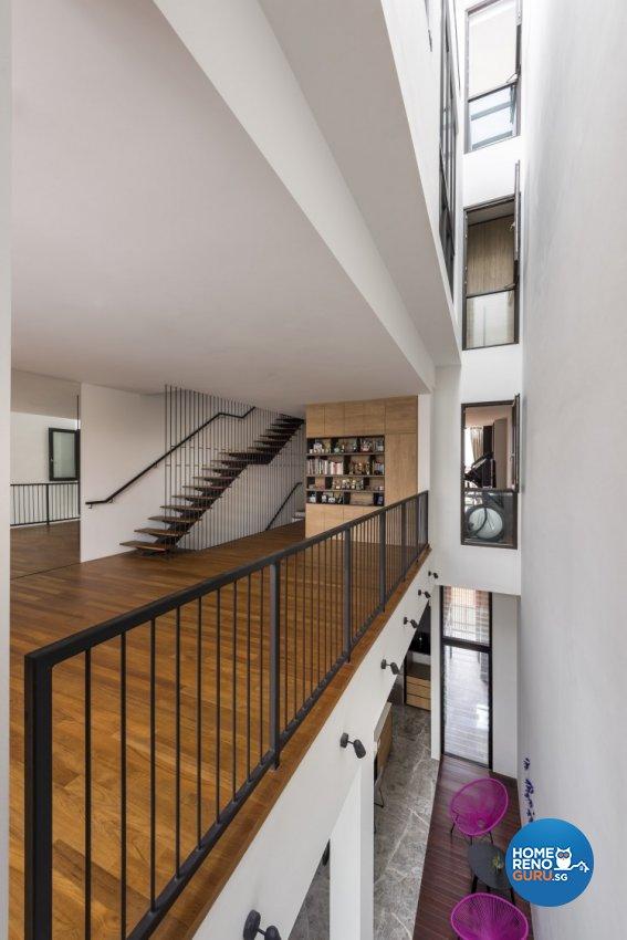 Contemporary Design - Study Room - Landed House - Design by Distinctidentity Pte Ltd