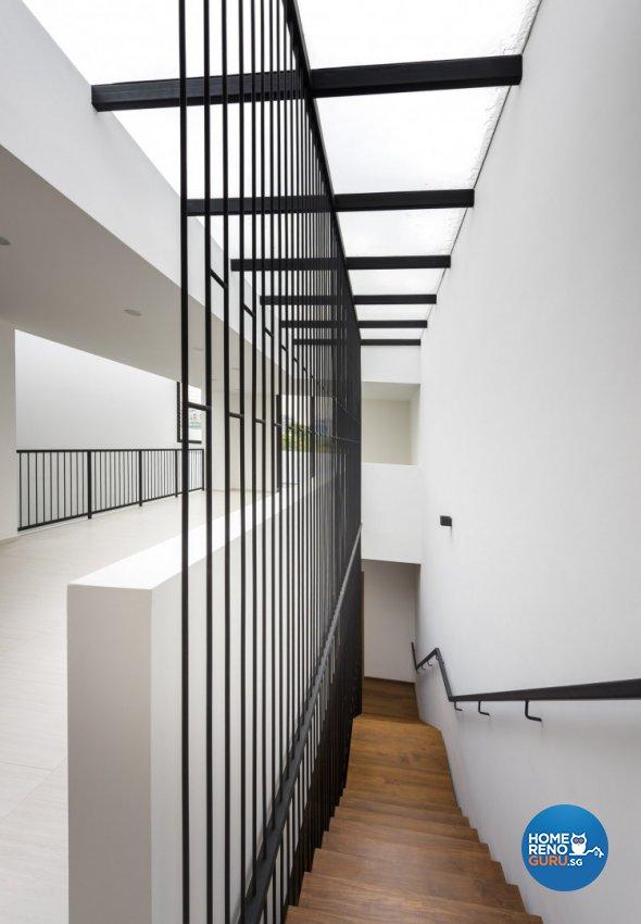 Contemporary Design - Balcony - Landed House - Design by Distinctidentity Pte Ltd