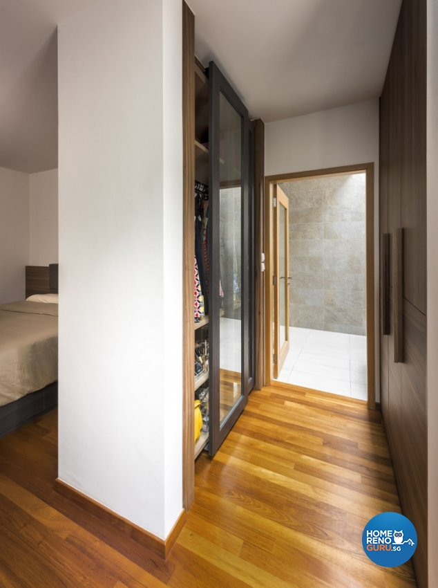 Contemporary Design - Bedroom - Landed House - Design by Distinctidentity Pte Ltd