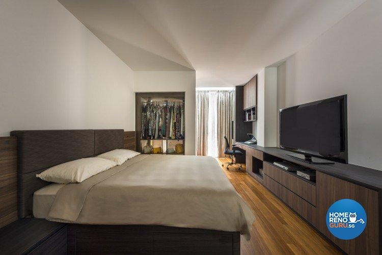 Contemporary Design - Bedroom - Landed House - Design by Distinctidentity Pte Ltd