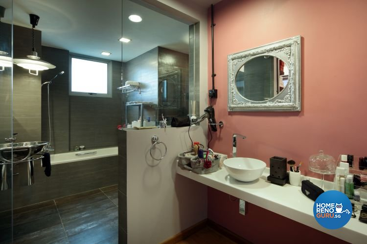 Country Design - Bathroom - Condominium - Design by Distinctidentity Pte Ltd