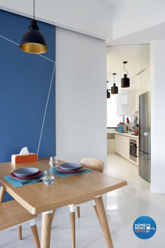 Modern Design - Dining Room - Condominium - Design by Distinctidentity Pte Ltd