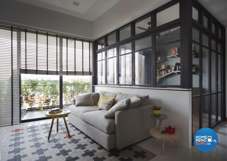 Modern Design - Living Room - Condominium - Design by Distinctidentity Pte Ltd