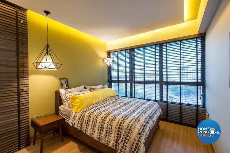 Industrial, Modern Design - Bedroom - Condominium - Design by Diva's Interior Design Pte Ltd