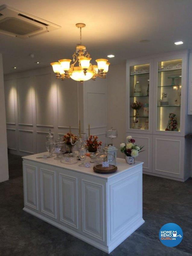 Classical Design - Commercial - Retail - Design by Diva's Interior Design Pte Ltd