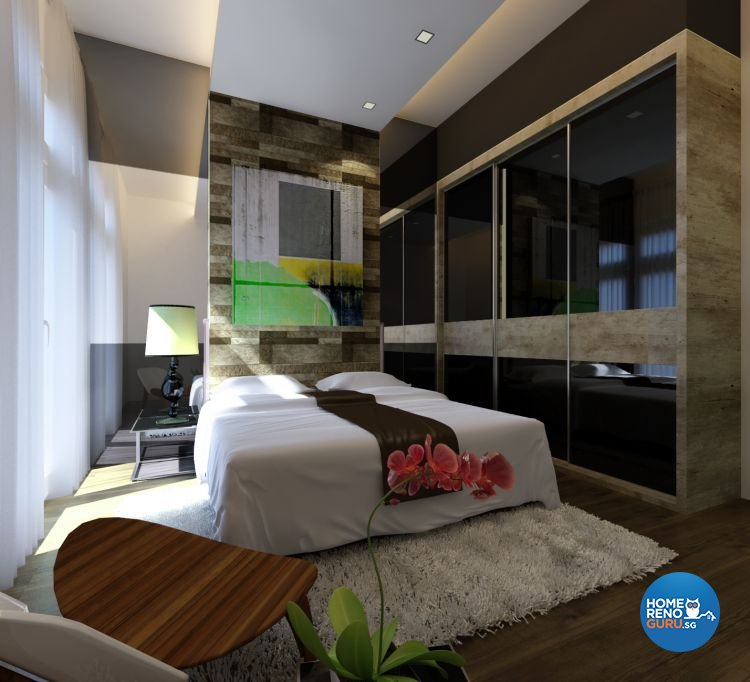 Contemporary Design - Bedroom - Condominium - Design by Diva's Interior Design Pte Ltd