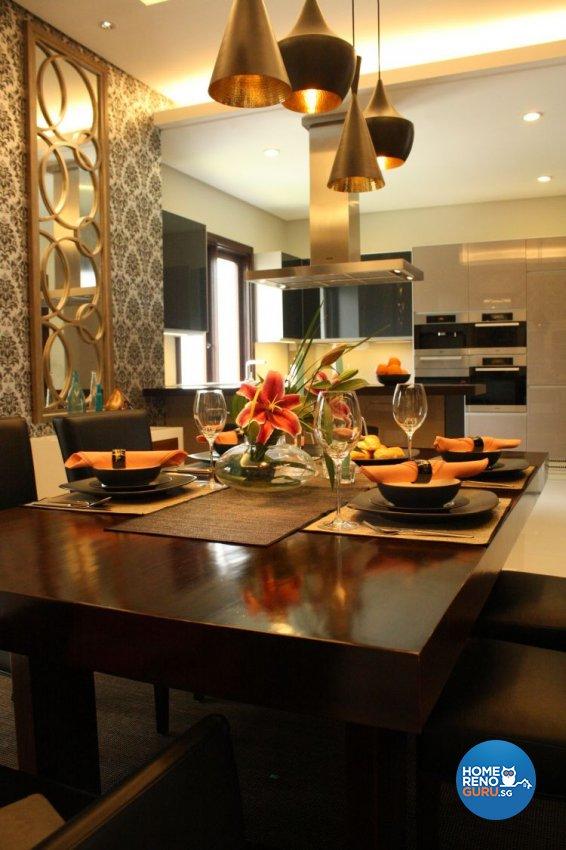 Modern Design - Dining Room - Condominium - Design by Domuseven Pte Ltd