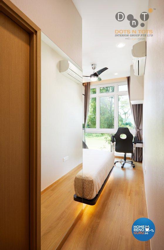 Contemporary, Modern Design - Bedroom - Condominium - Design by Dots n Tots Interior Pte Ltd
