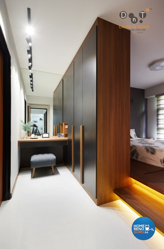 Scandinavian Design - Bedroom - HDB 4 Room - Design by Dots n Tots Interior Pte Ltd