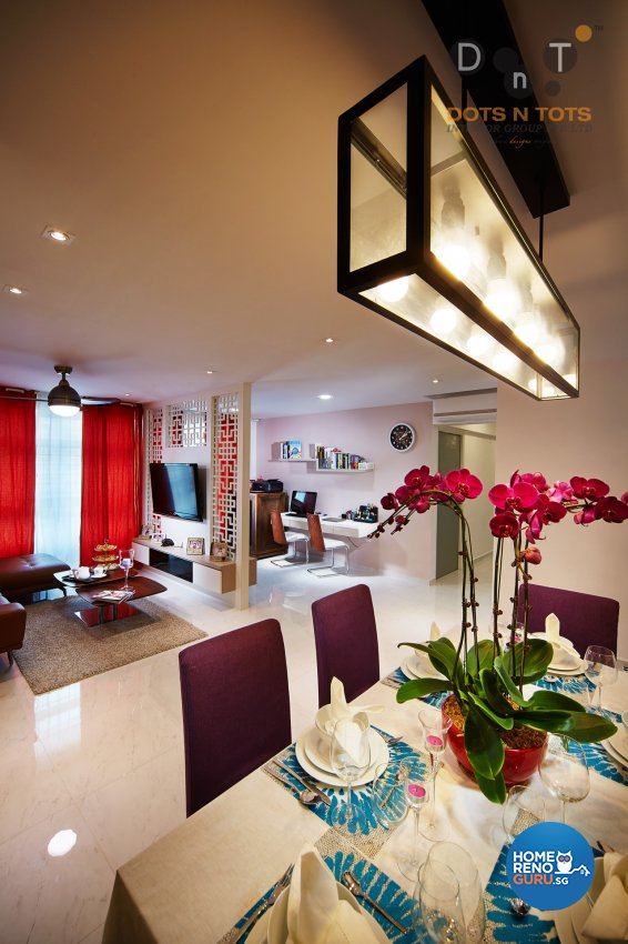 Others Design - Dining Room - HDB 4 Room - Design by Dots n Tots Interior Pte Ltd
