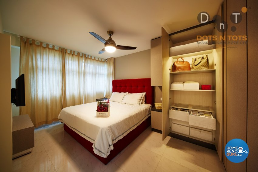 Others Design - Bedroom - HDB 4 Room - Design by Dots n Tots Interior Pte Ltd