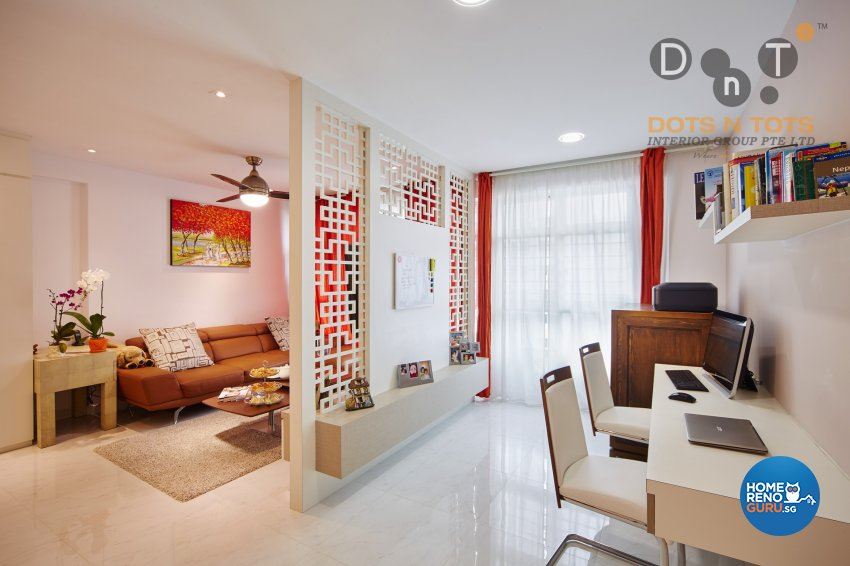 Others Design - Living Room - HDB 4 Room - Design by Dots n Tots Interior Pte Ltd